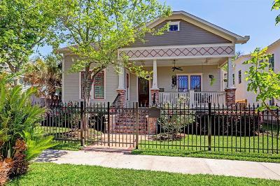 Houston Single Family Home For Sale: 1636 Arlington Street