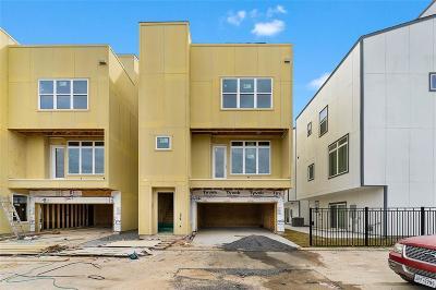 Houston Single Family Home For Sale: 1306 Mayfair Clarkson