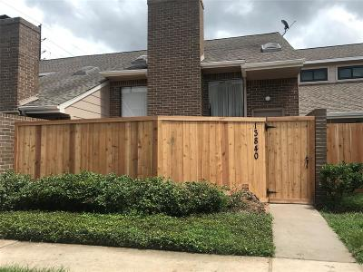 Houston Condo/Townhouse For Sale: 13840 Hollowgreen Drive #3106