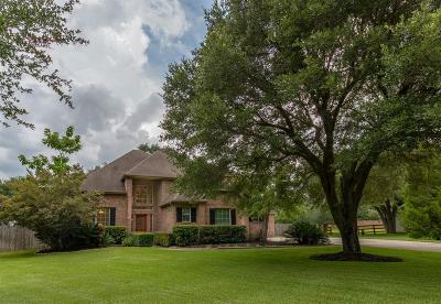 Tomball TX Single Family Home Option Pending: $425,000