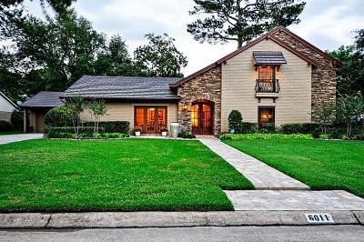 Houston Single Family Home For Sale: 6011 Coral Ridge Road