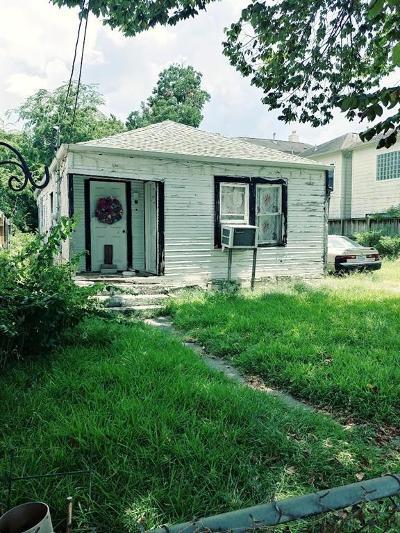 Shady Acres Single Family Home For Sale: 2524 Brinkman Street