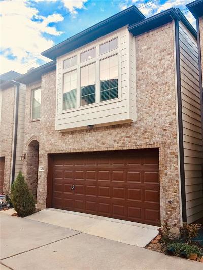 Houston Single Family Home For Sale: 1212 Sampson Street