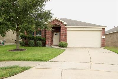 Katy Single Family Home For Sale: 406 Mornington Lane