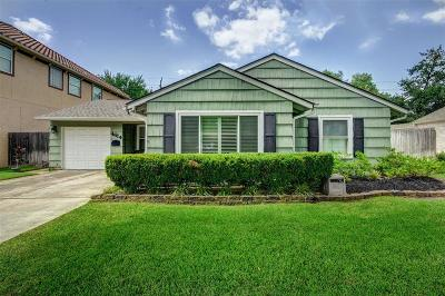 Bellaire Single Family Home For Sale: 4614 Oakdale Street