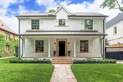 West University Place Single Family Home For Sale: 3773 Sunset Boulevard