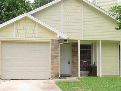 Rosenberg Single Family Home For Sale: 4913 Redbud Drive