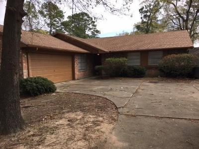 Houston Single Family Home For Sale: 227 Black Rock Road