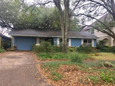 Bellaire Single Family Home For Sale: 4608 Birch