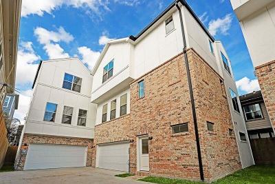 Houston Single Family Home For Sale: 4310 Koehler Street #B