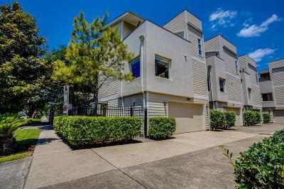 Houston Single Family Home For Sale: 1514 Crockett Street #A