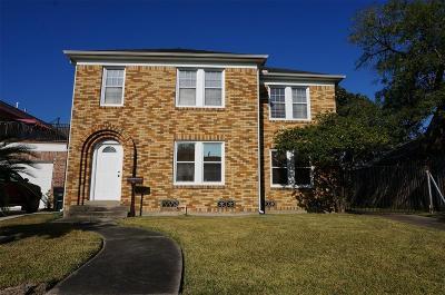 Houston Single Family Home For Sale: 4437 Pease Street
