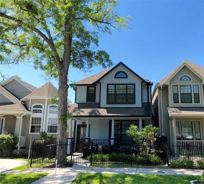 Houston Single Family Home For Sale: 522 W 27th Street