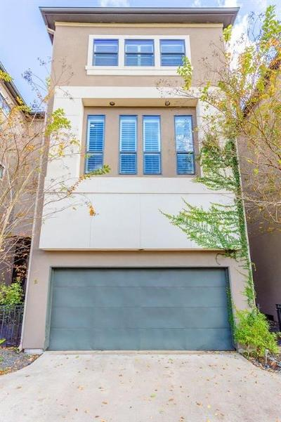 Houston Single Family Home For Sale: 1121 W 17th Street #D