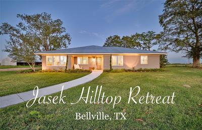Bellville Farm & Ranch For Sale: 6970 A F Jasek Lane