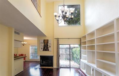 Houston Condo/Townhouse For Sale: 2220 Bering Drive #4