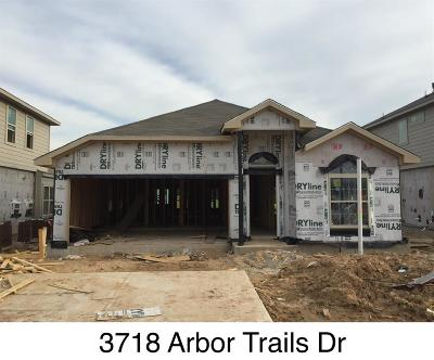 Humble Single Family Home For Sale: 3718 Arbor Trails Drive