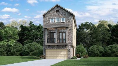 Houston TX Single Family Home For Sale: $443,390