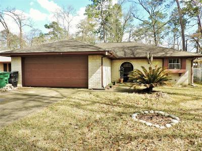 Kingwood Single Family Home For Sale: 22114 Rustic Bridge