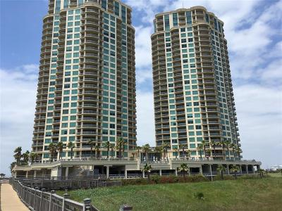Galveston Mid/High-Rise For Sale: 801 E Beach #TW0712