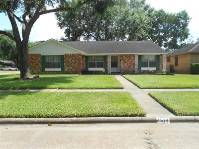 Houston Single Family Home For Sale: 4619 Pinebrook Lane