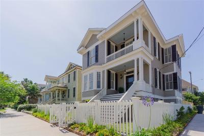 Galveston Single Family Home For Sale: 1402 Market Street
