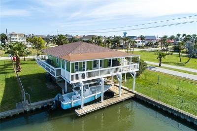 Galveston Single Family Home For Sale: 22006 Matagorda Drive