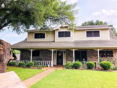 Pasadena Single Family Home For Sale: 4618 Shaun Drive