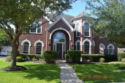 Richmond Single Family Home For Sale: 1518 Lake Holbrook Lane
