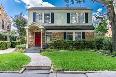Houston Single Family Home For Sale: 2209 W Main Street