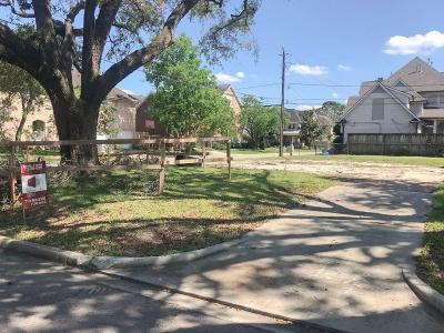 Bellaire Residential Lots & Land For Sale: 4401 Effie Street