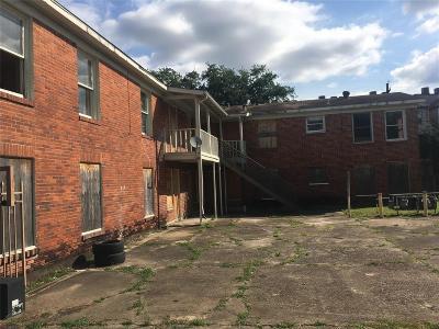 Houston Multi Family Home For Sale: 1802 Arbor Street