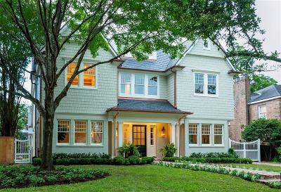 River Oaks Single Family Home For Sale: 2425 Del Monte Drive