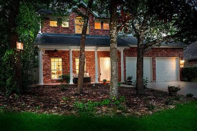 The Woodlands Single Family Home For Sale: 110 N Rambling Ridge Place