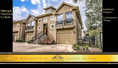 Houston Single Family Home For Sale: 5305 Fayette Street
