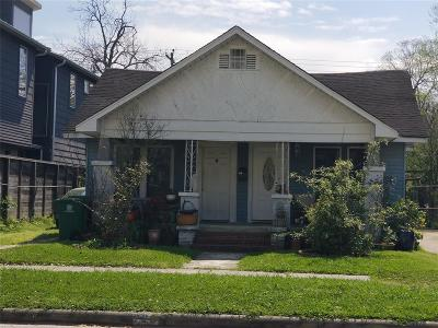 Galveston County, Harris County Single Family Home For Sale: 726 E 14th Street