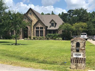 Magnolia Single Family Home For Sale: 15218 Beisert Circle