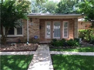 Houston Single Family Home For Sale: 3323 Cloverdale Street