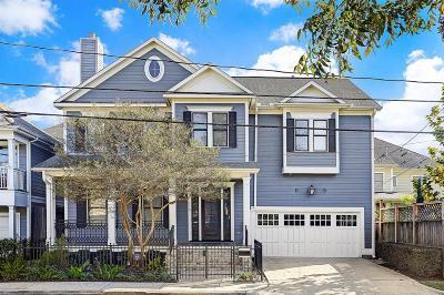 Houston Single Family Home For Sale: 1110 Herkimer Street