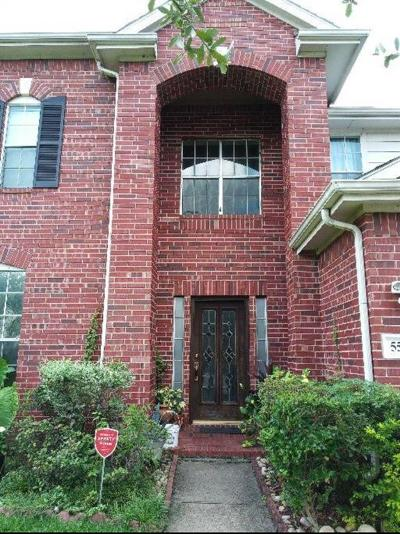 Sugar Land Single Family Home For Sale: 5522 Linden Grove Court
