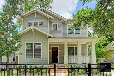 Houston Single Family Home For Sale: 1027 Arlington Street