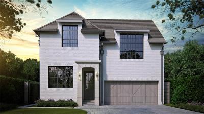 Houston Single Family Home For Sale: 3771 Jardin Street