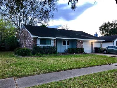 Houston Single Family Home For Sale: 9243 Blankenship Drive