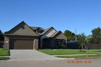 Angleton Single Family Home For Sale: 1 Texian Trail