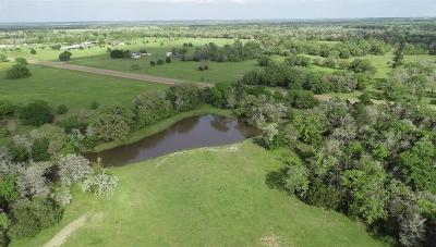 Fayette County Farm & Ranch For Sale: Waldeck Road
