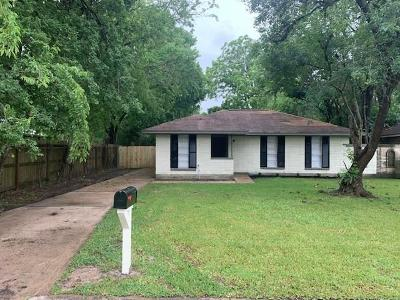 Houston Single Family Home For Sale: 6618 Hopper Road