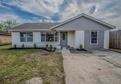 Houston Single Family Home For Sale: 414 Gammon Drive
