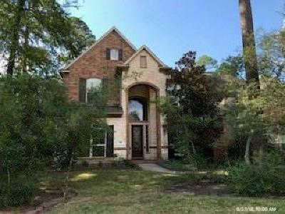 The Woodlands Single Family Home For Sale: 110 S Veilwood Circle