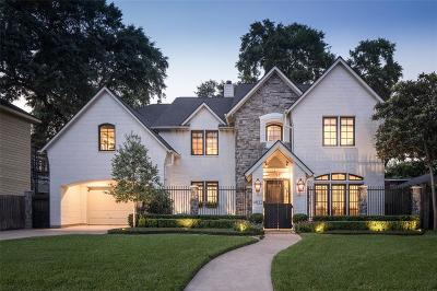 Houston TX Single Family Home For Sale: $1,999,999