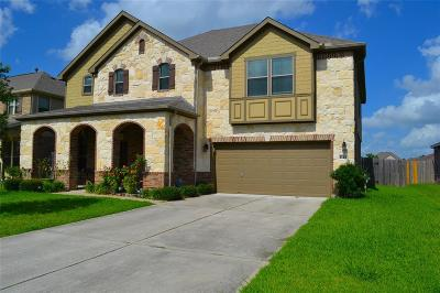Manvel Single Family Home For Sale: 2535 J R Drive